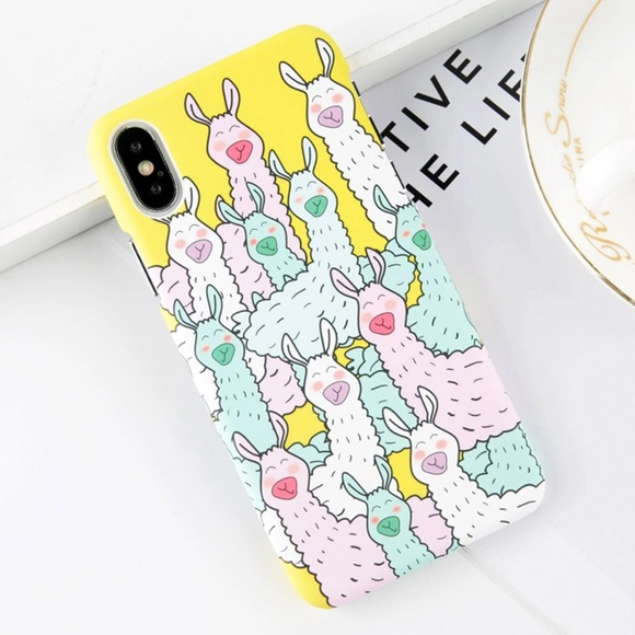 Accessories - NEW iPhone 7/8/7+/8+ Alpaca Llama Case